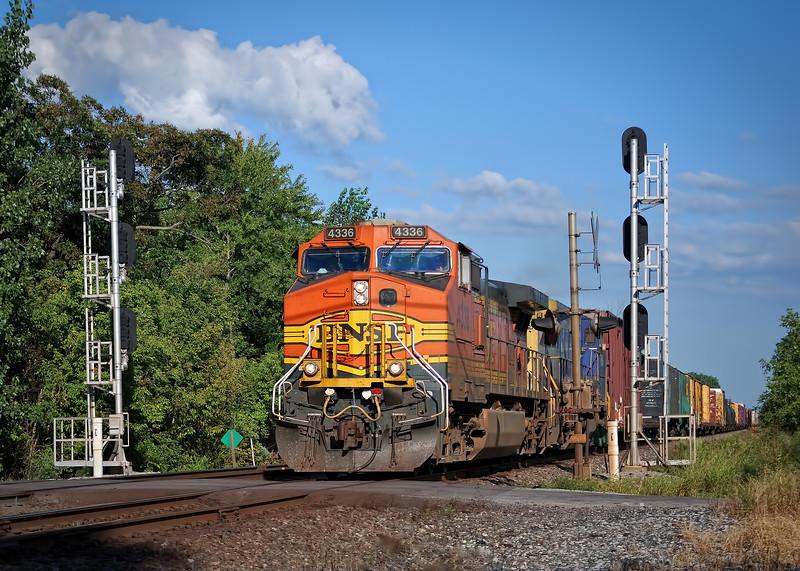 BNSF Engine