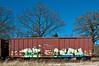 Train Grafiti goes the distance.