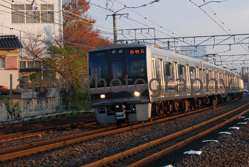 Commuter Train, Nagaokakyo, Kyoto-fu, Japan