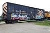 Ontario Northland Railway boxcar 7737.