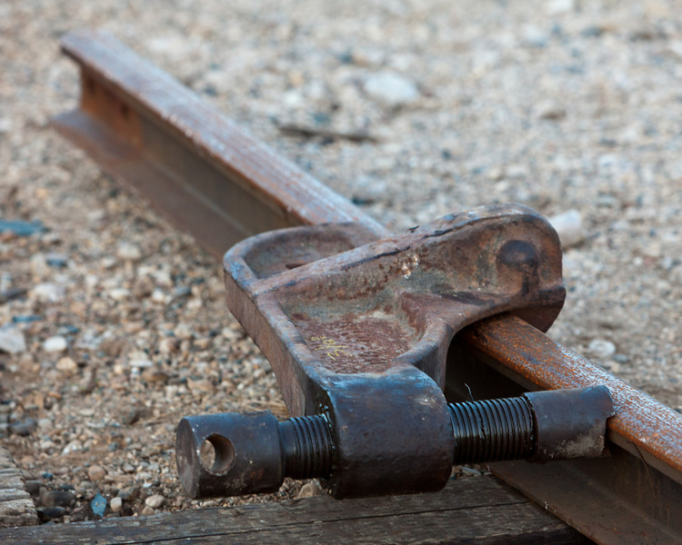 Track and clamp