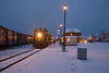 Northlander prepares to depart south from Cochrane 2006 December 27th