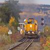 Northlander head south from Englehart 2010 October 11