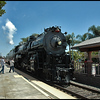 One shot of the steam train on the return run thru Carlsbad on 5-2-2010.