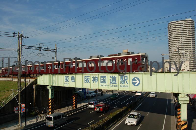 Hankyu Train, Nishinomiya, Hyogo-ken, Japan