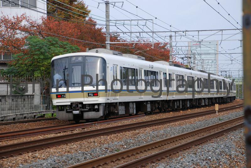 JR Commuter Train, Nagaokakyo, Kyoto-fu, Japan