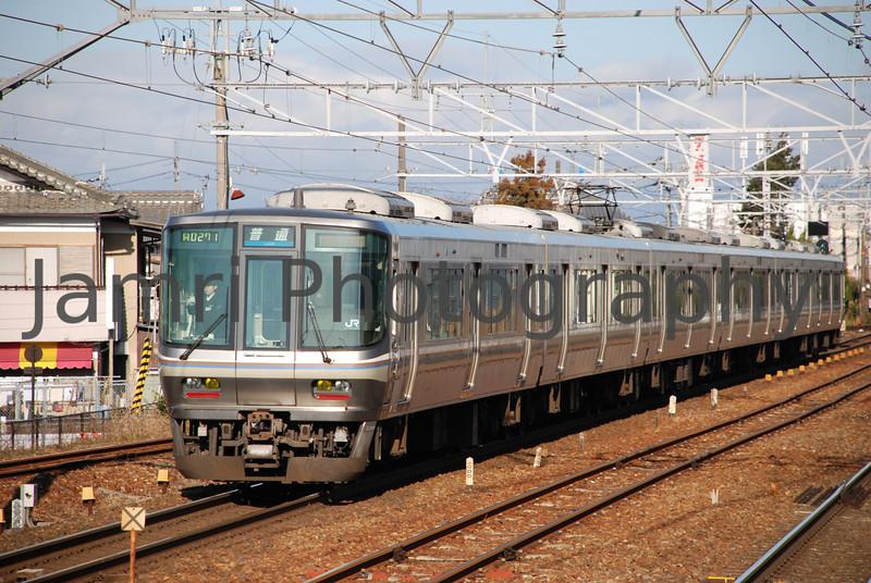 Commuter Train, Shiga Prefecture, Japan.