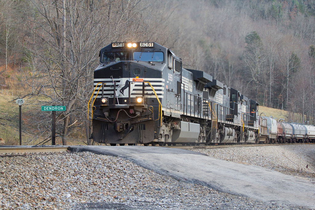 NS 135 at Dendron, NC.