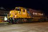 GP38-2 1808 in Cochrane.