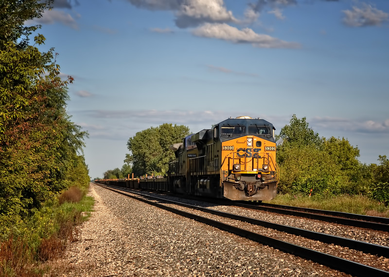CSX Train Engine