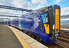 Scotrail Class 385 EMU (385102) at Gourock Station - 23 April 2017