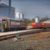 Train Yard and Grain Elevator