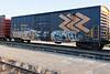 Ontario Northland Railway boxcar 7449 at Cochrane.