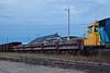Air dump ballast cars in Moosonee.