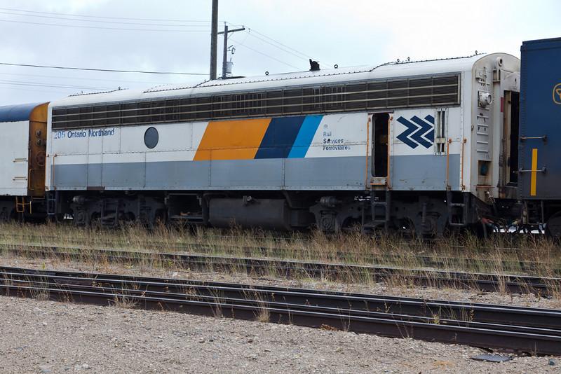 Ontario Northland Railway Auxiliary Power Unit 205.