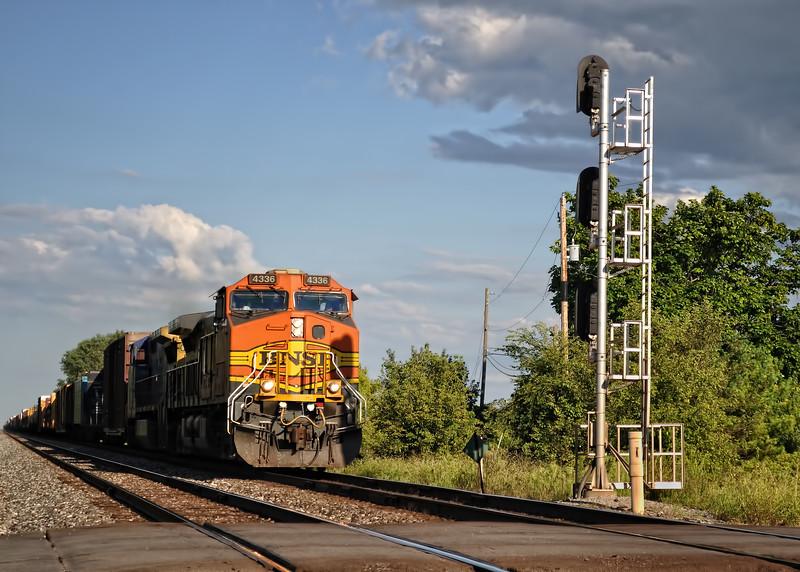 BNSF Train Engine