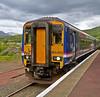Sprinter - 156465 - Garelochhead Station - 14 June 2013