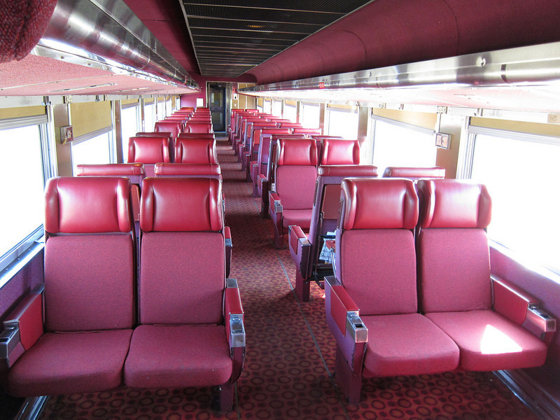 Ontario Northland Railway coach 855