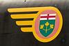 Logo on steam engine 701