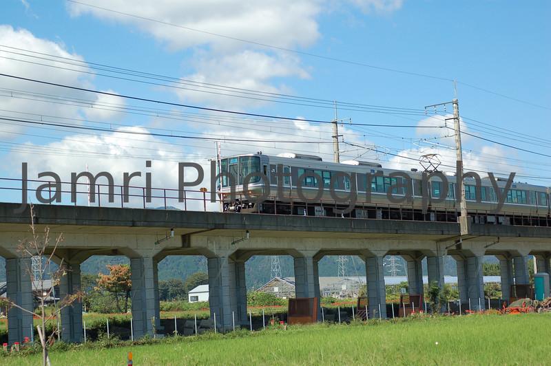 Commuter Train, Omi-Imazu, Shiga-ken, Japan