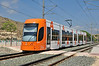 Tram 4211 departs Venta Lanuza with the 14:55 service all stations to Luceros Alicante 17/09/2011.