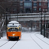 Mattapan PCCs after the first snow of 2010.