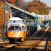 The  MBTA'sPCC dressed for Halloween on the Mattapan Line.