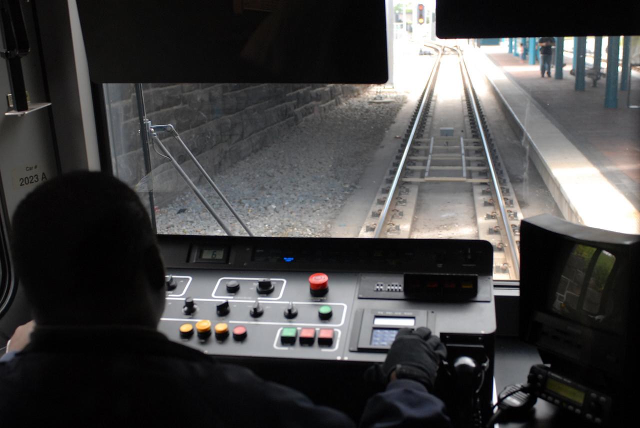 Tonnelli Ave Station<br /> New Jersey Transit Hudson Bergen Light Rail Line