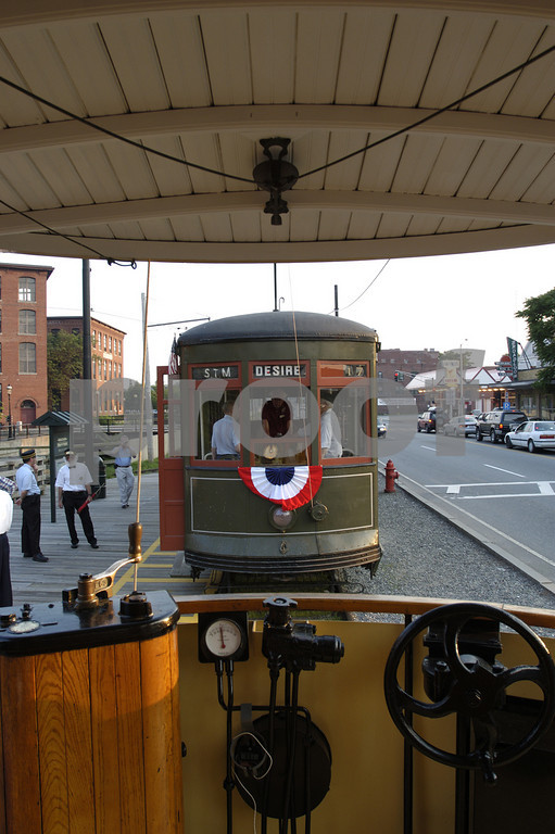 New Orleans  Streetcar 966 at Lowell, Mass