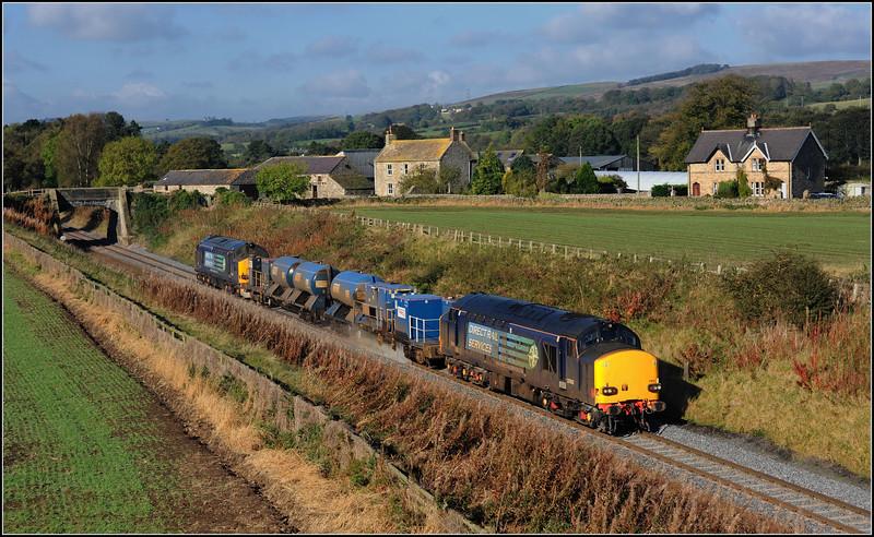 2014 10 12. 37612/37259 on the  Carlisle-Tursdale-Carlisle RHTT at Moralee.