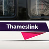 Thameslink logo at Crewe on 20th November 2014