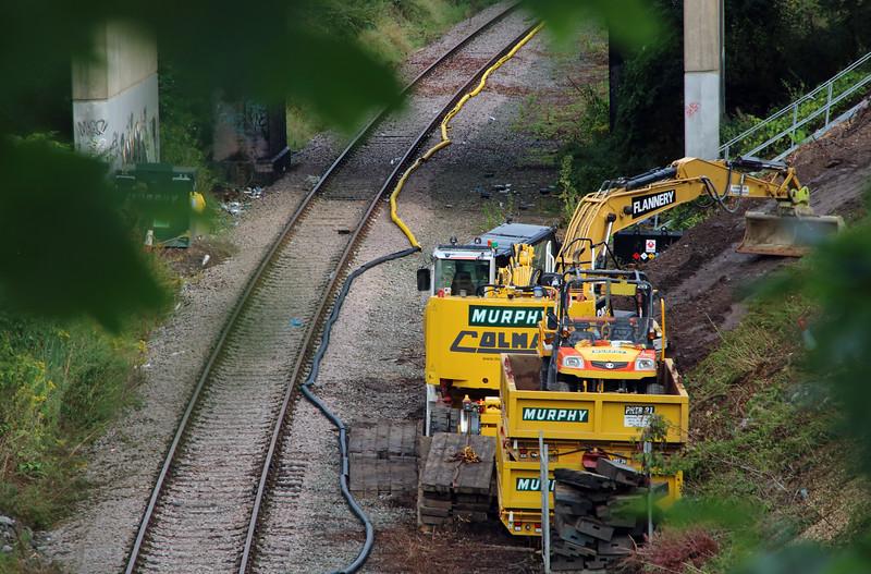 4) Halton Branch between Frodsham Jn and Halton Jn on 5th September 2015