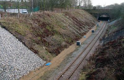 Between Frodsham Junction & Halton Junction on 14th January 2017