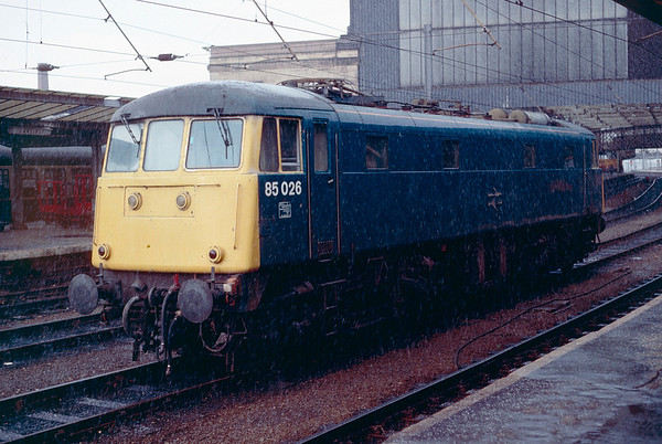 British Rail in Spring 1989