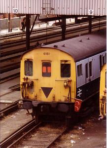 6151 at Stewart's Lane Depot, London - 15 Aug 1983