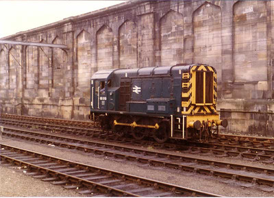 08910, Carlisle station, 22 August 1983