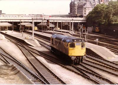 27012, Edinburgh Waverley - 16th August 1983