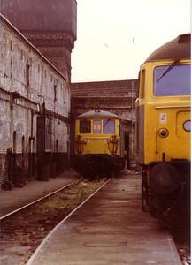 Stewart's Lane Depot, London - 15 Aug 1983