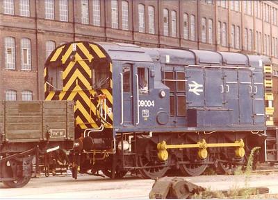 09004 at Stewart's Lane Depot, London - 15 Aug 1983