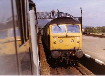 UID Class 47/4, Aviemore , 17 Aug 1983