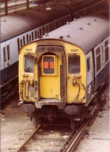 1581 at Stewart's Lane Depot, London - 15 Aug 1983