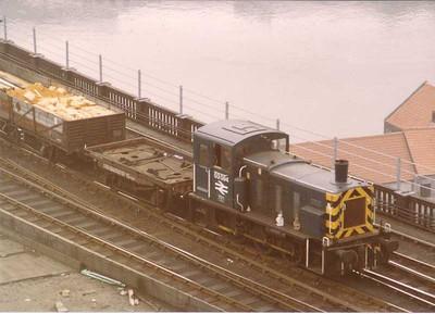 03094, Newcastle High-level Bridge, 19th August 1983