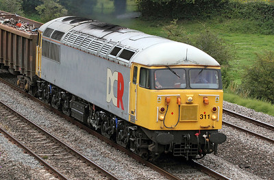 Roster shot of 56311 in DCR Livery. 12/07/2011