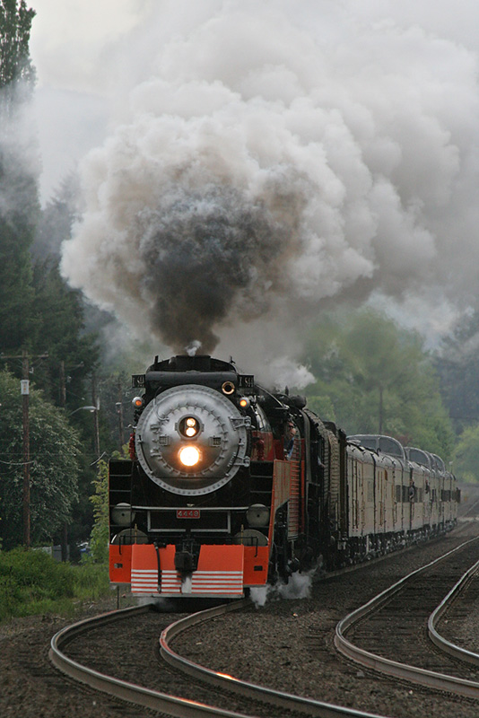 UP 844 and SP 4449 Pacific Northwest Tour (May 2007)