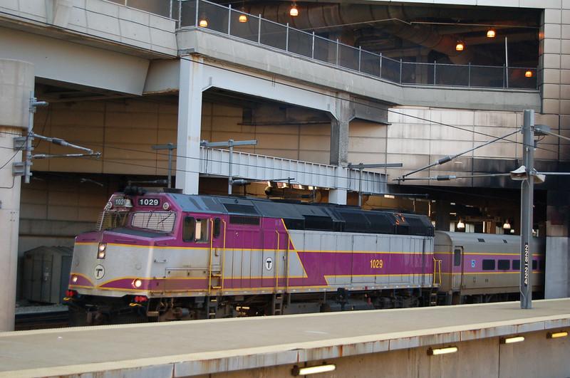 MBTA 1029 - Boston South Station, MA, USA - 13 June 2006