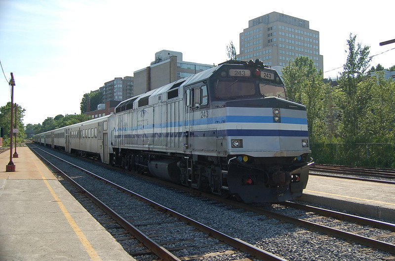 AMT 243 - Montreal Station, QC, Canada - 16 June 2006