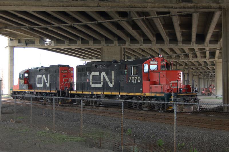 CN 7070 & CN 7029 - Quebec, Canada - 15 June 2006