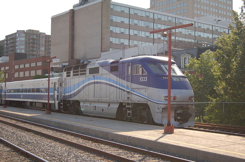 AMT 1323 - Montreal Station, QC, Canada - 16 June 2006