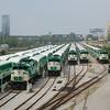 GOT 548, GOT 562, GOT 523, GOT 564 & GOT 553 - North Bathurst Yard, Toronto, Ont, Canada - 19 June 2006