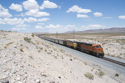 BNSF 8291 on the Coal Drag, time time at Jean, NV south of Las Vegas